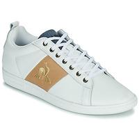 Pantofi Bărbați Pantofi sport Casual Le Coq Sportif COURTCLASSIC Alb / Tan