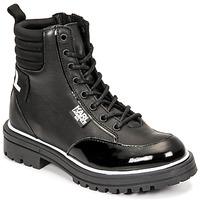 Pantofi Fete Cizme casual Karl Lagerfeld HOLISTA Negru
