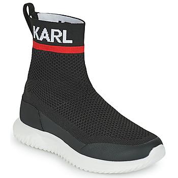 Pantofi Băieți Pantofi sport stil gheata Karl Lagerfeld PELINDRA Negru