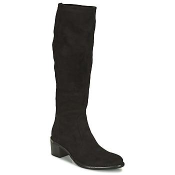Pantofi Femei Cizme casual Adige DIANE V1 CAMOSCIO NOIR Negru