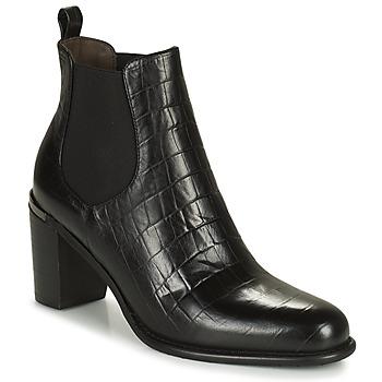 Pantofi Femei Cizme casual Adige FANY V5 CAIMAN NOIR Negru