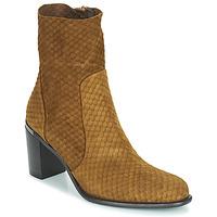 Pantofi Femei Cizme casual Adige FARA V2 ECAILLE NOIX Maro