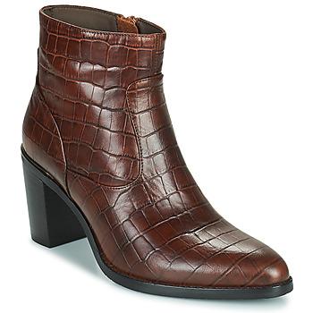 Pantofi Femei Cizme casual Adige IZEL V3 CAIMAN COGNAC Maro