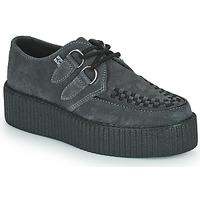 Pantofi Pantofi Derby TUK VIVA HIGH CREEPER Gri