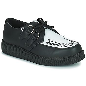 Pantofi Pantofi Derby TUK VIVA LOW TOE CREEPER Negru / Alb