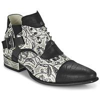 Pantofi Bărbați Pantofi Derby New Rock M-NW135-C12 Alb / Negru