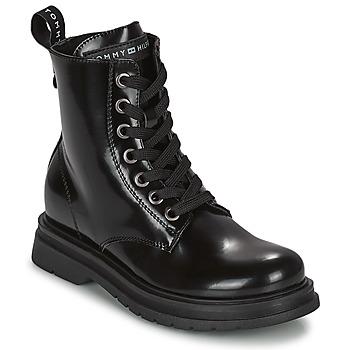 Pantofi Fete Ghete Tommy Hilfiger T4A5-32009-0776999 Albastru