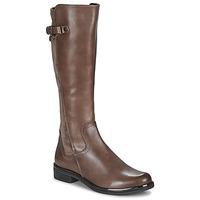 Pantofi Femei Cizme casual Caprice 25504-361 Taupe