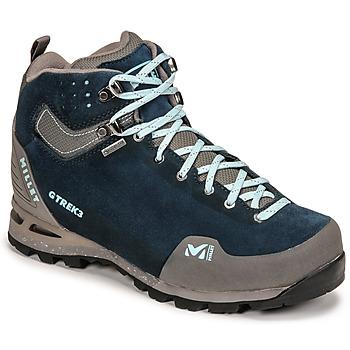 Pantofi Femei Drumetie și trekking Millet G TREK 3 GORETEX Verde / Albastru