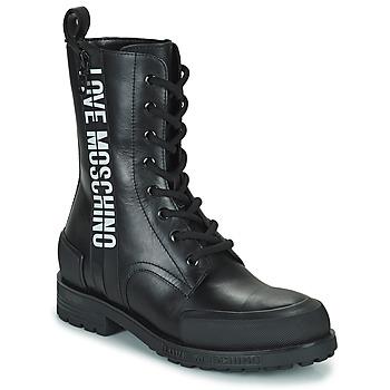 Pantofi Femei Ghete Love Moschino JA24184G1D Negru