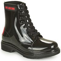 Pantofi Femei Cizme de cauciuc Love Moschino JA24193G1D Negru