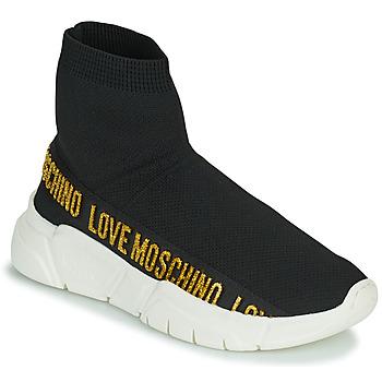 Pantofi Femei Pantofi sport stil gheata Love Moschino JA15633G0D Negru