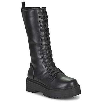 Pantofi Femei Cizme casual Emmshu BADIE Negru