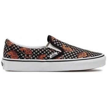 Pantofi Femei Pantofi Slip on Vans UA Classics Slipon Negre, Portocalie