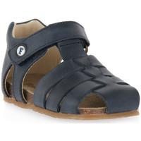 Pantofi Băieți Sandale  Naturino FALCOTTO 0C01 ALBY BLEU Blu