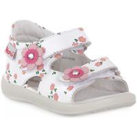 Pantofi Băieți Sandale  Naturino FALCOTTO 0N01 BESENVAL WHITE Bianco