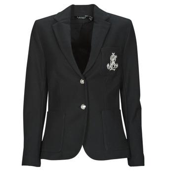 Îmbracaminte Femei Sacouri și Blazere Lauren Ralph Lauren ANFISA-LINED-JACKET Negru