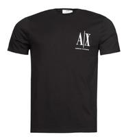 Îmbracaminte Bărbați Tricouri mânecă scurtă Armani Exchange 8NZTPH Negru
