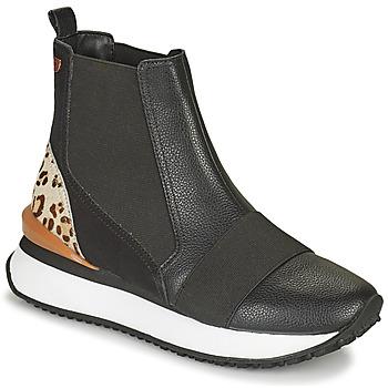 Pantofi Femei Pantofi sport stil gheata Gioseppo LUNNER Negru / Leopard