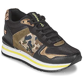 Pantofi Femei Pantofi sport Casual Gioseppo GRAZ Negru / Kaki