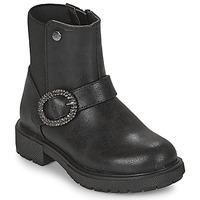 Pantofi Fete Ghete Gioseppo LONTZEN Negru