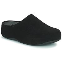 Pantofi Femei Saboti FitFlop SHUV FELT Negru
