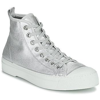Pantofi Femei Pantofi sport Casual Bensimon STELLA B79 SHINY CANVAS Argintiu