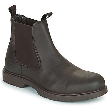 Pantofi Bărbați Ghete Lumberjack CHARLIE BEATLES Maro