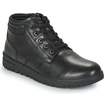 Pantofi Bărbați Ghete Lumberjack ALFRED LOW BOOT LACE Negru