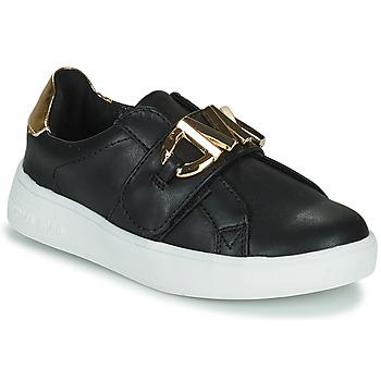 Pantofi Fete Pantofi sport Casual MICHAEL Michael Kors JEM MK Negru / Auriu