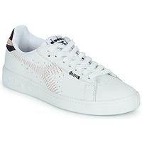 Pantofi Femei Pantofi sport Casual Diadora GAME L LOW ZIG ZAG WN Alb / Roz