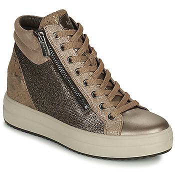 Pantofi Femei Pantofi sport stil gheata IgI&CO DONNA SHIRLEY Bej / Auriu
