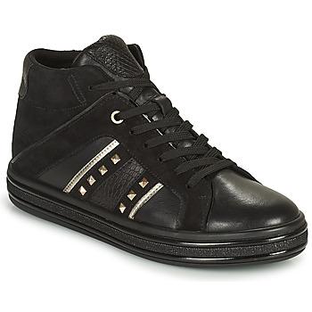 Pantofi Femei Pantofi sport stil gheata Geox LEELU Negru / Argintiu