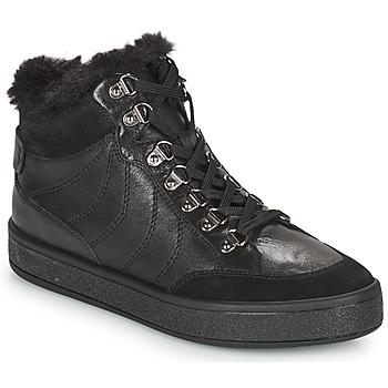 Pantofi Femei Ghete Geox LEELU Negru