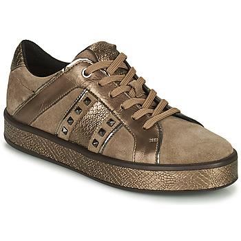 Pantofi Femei Pantofi sport Casual Geox LEELU Maro / Auriu