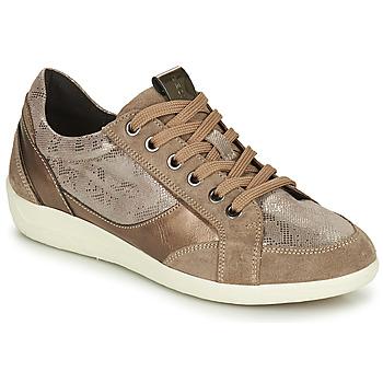Pantofi Femei Pantofi sport Casual Geox MYRIA Auriu