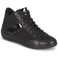 Pantofi Femei Pantofi sport stil gheata Geox MYRIA Negru