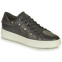 Pantofi Femei Pantofi sport Casual Geox PONTOISE Negru / Auriu