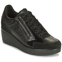 Pantofi Femei Pantofi sport Casual Geox ILDE Negru