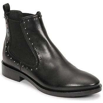 Pantofi Femei Botine Geox BROGUE Negru