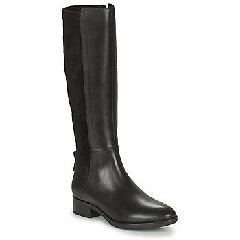 Pantofi Femei Cizme casual Geox FELICITY Negru