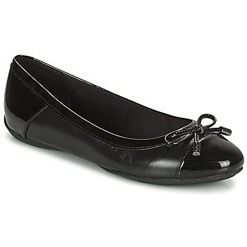 Pantofi Femei Balerin și Balerini cu curea Geox CHARLENE Negru