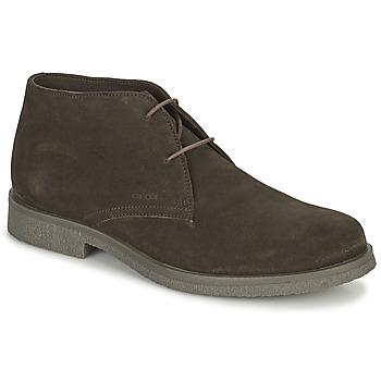 Pantofi Bărbați Ghete Geox CLAUDIO Maro