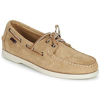 Pantofi Bărbați Pantofi barcă Sebago PORTLAND FLESH OUT Bej