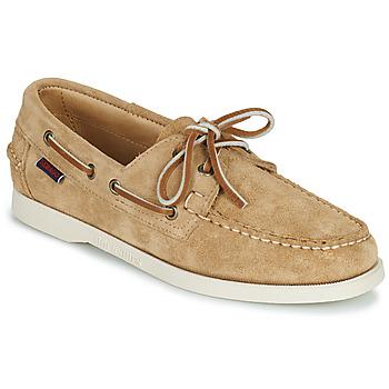 Pantofi Femei Pantofi barcă Sebago PORTLAND FLESH OUT W Bej