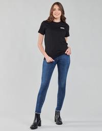 Îmbracaminte Femei Jeans skinny Diesel SLANDY-LOW Albastru / Culoare închisă