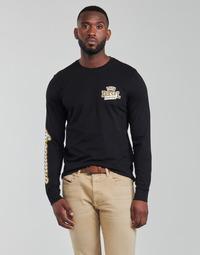 Îmbracaminte Bărbați Tricouri cu mânecă lungă  Diesel T-DIEGOS-LS-K27 Negru