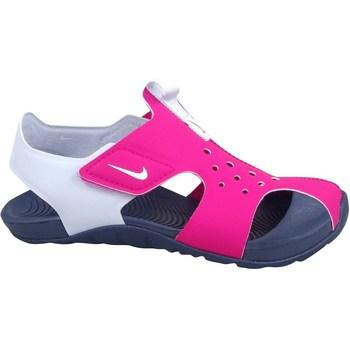 Pantofi Fete Sandale  Nike Sunray Protect 2 Alb, Roz