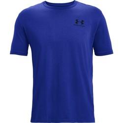 Îmbracaminte Bărbați Tricouri mânecă scurtă Under Armour Sportstyle Left Chest Albastru