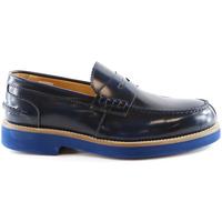 Pantofi Bărbați Mocasini Exton 2102 Albastru